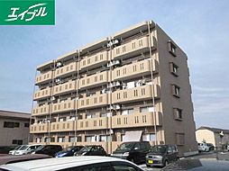 三重県松阪市荒木町の賃貸マンションの外観