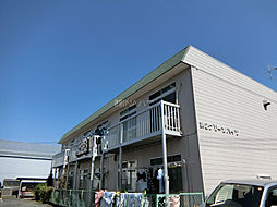 埼玉県上尾市日の出1丁目の賃貸アパートの外観