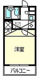 コンフォートマンション大宮[633号室]の間取り