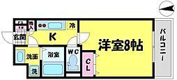 アドバンス大阪城エストレージャ[3階]の間取り