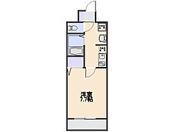 ラジュナーレ・パラスト[2階]の間取り
