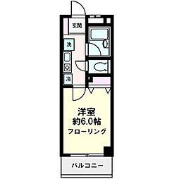 アンビシャス21新川崎[0303号室]の間取り
