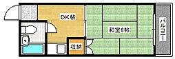 柴崎東雲ビル[506号室]の間取り