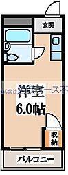 サニーハイム小若江[5階]の間取り