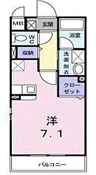 サンセットタイム[1階]の間取り