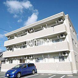 静岡県浜松市浜北区染地台3の賃貸マンションの外観