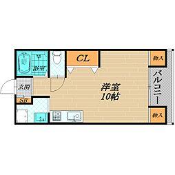 高殿マンション[3階]の間取り