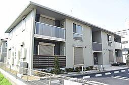 京都府京都市山科区勧修寺西北出町の賃貸アパートの外観