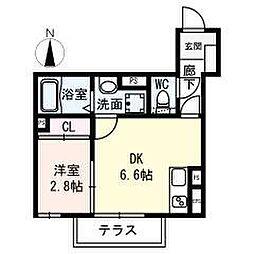 名古屋市営名城線 名城公園駅 徒歩8分の賃貸アパート