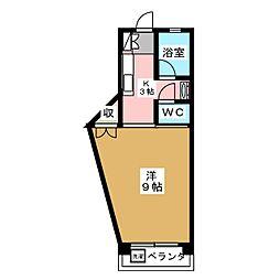 ル・シャルル[4階]の間取り