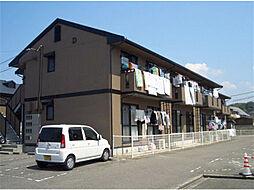 愛媛県松山市東石井3丁目の賃貸アパートの外観