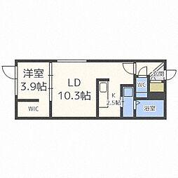 豊平公園駅 5.3万円