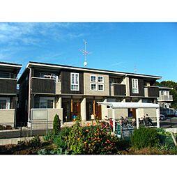 茨城県かすみがうら市稲吉2丁目の賃貸アパートの外観