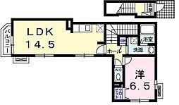 ベル アンビエンテ[2階]の間取り