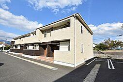 福岡県田川市大字糒の賃貸アパートの外観