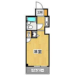 ウィンベルソロ越谷第3[2階]の間取り
