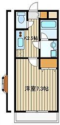 東京都西東京市東町4の賃貸マンションの間取り