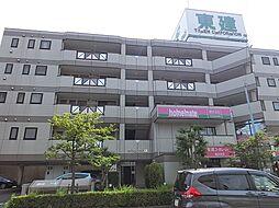 神奈川県横浜市都筑区茅ケ崎東3丁目の賃貸マンションの外観