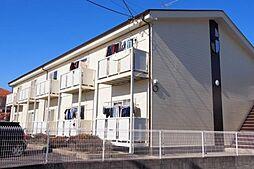 愛知県安城市東栄町5丁目の賃貸アパートの外観