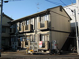 京都府京都市上京区新町通一条上る一条殿町の賃貸アパートの外観