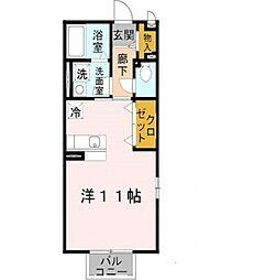Comfort紘(コンフォート紘)[205号室号室]の間取り