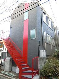 神奈川県横浜市港南区上大岡西2の賃貸アパートの外観