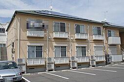 群馬県伊勢崎市柳原町の賃貸アパートの外観