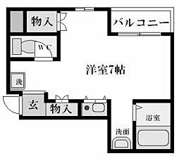 デュ・プレ[3階]の間取り