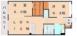 (仮)レジェンドソーラー日蒔野[1階]の間取り