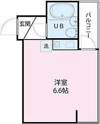 東京都墨田区千歳2の賃貸マンションの間取り