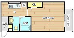 KSコートII[1階]の間取り