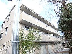 兵庫県宝塚市中州1丁目の賃貸アパートの外観