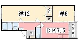 ソシア小泉IV[205号室]の間取り