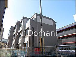 千葉県松戸市上本郷の賃貸アパートの外観