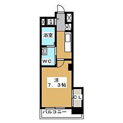 アクアプレイス京都洛南II[5階]の間取り