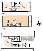 建物面積95.24平米、建物価格1600万円(税込)地盤調査、地盤改良工事費用別途要