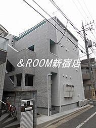 パークFLATS桜川[201号室]の外観