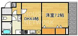 NEO-OGASAWARA[403号室号室]の間取り