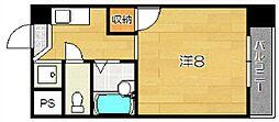 メゾンショウエイ[3階]の間取り