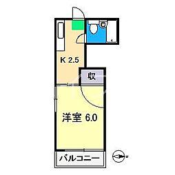 ニューホープハイツIII[3階]の間取り