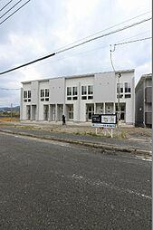 福岡県北九州市戸畑区牧山海岸の賃貸アパートの外観