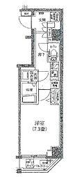 アイルイムーブル深川[3階]の間取り