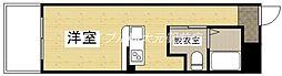ZEUS岡山北[4階]の間取り
