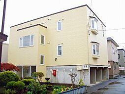 北海道札幌市白石区北郷一条13丁目の賃貸アパートの外観