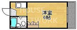 京都府京都市上京区今出川通出町西入下る三芳町の賃貸マンションの間取り