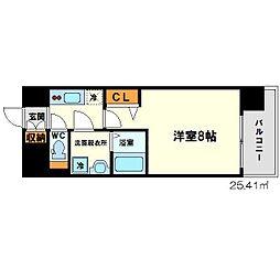 ララプレイス新大阪LD[5階]の間取り