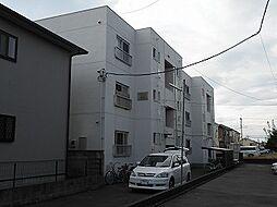 マンション赤山[1階]の外観