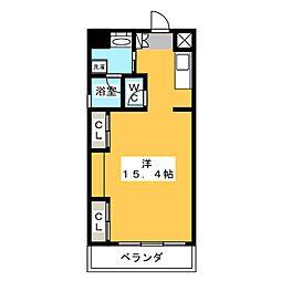 S・ALLEY[9階]の間取り