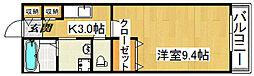 アバンツァートI[1階]の間取り