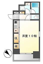 グランエターナ名古屋鶴舞[4階]の間取り